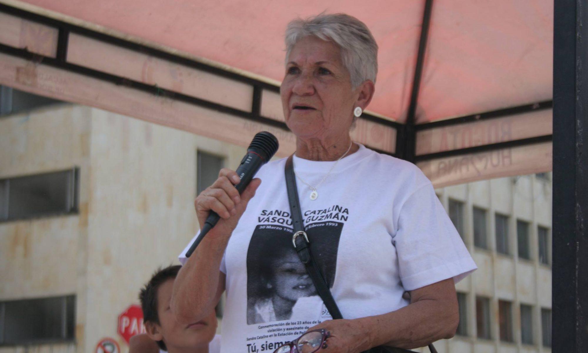 Blanca Aranda, abuela de Catalina. Foto: Archivo familiar